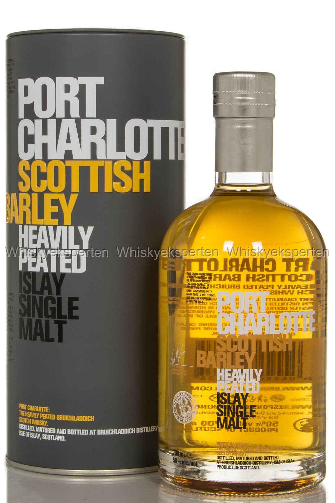 Port charlotte scottish barley skotsk whisky - Port charlotte scottish barley ...